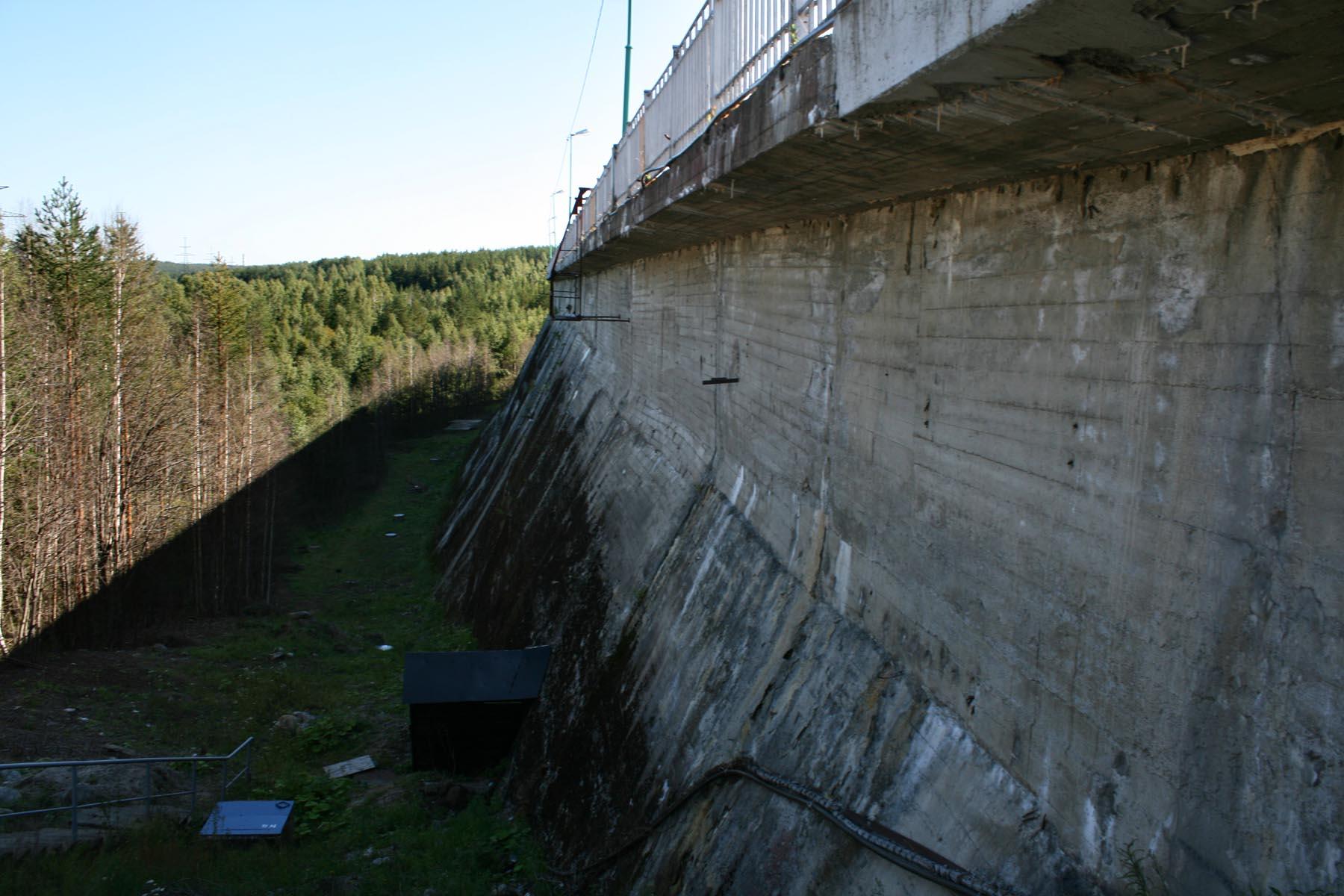 Плотина Ондской ГЭС