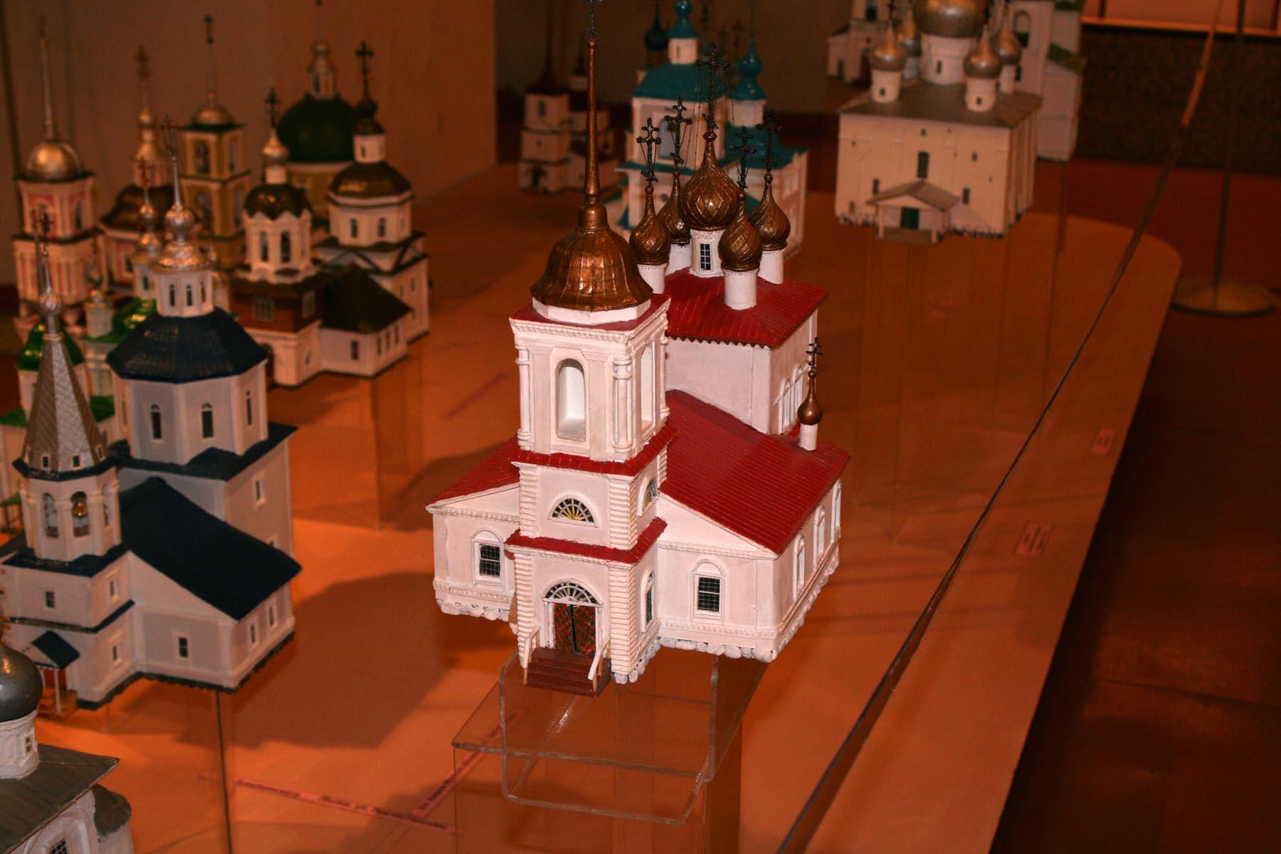 Реконструкция Белозерских церквей