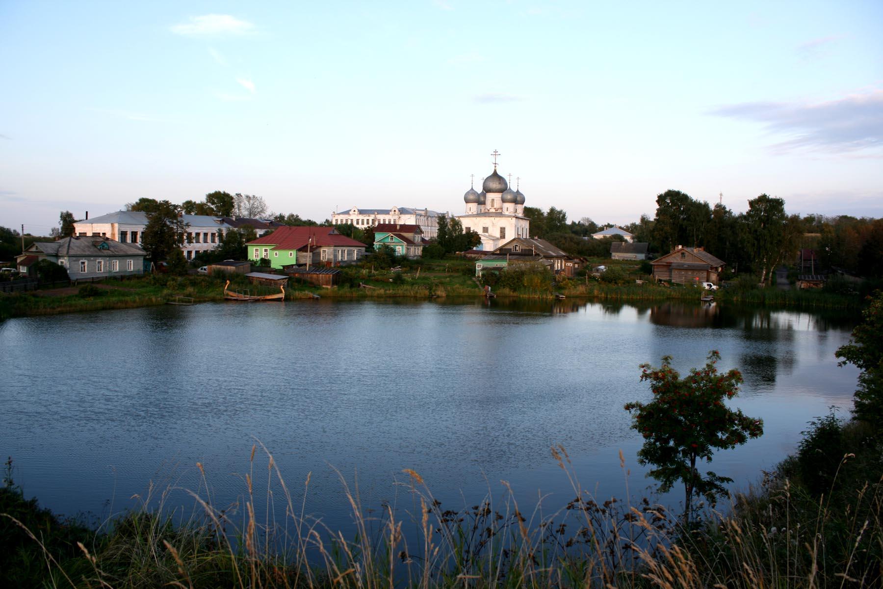 Вид на Спасо-Преображенский собор
