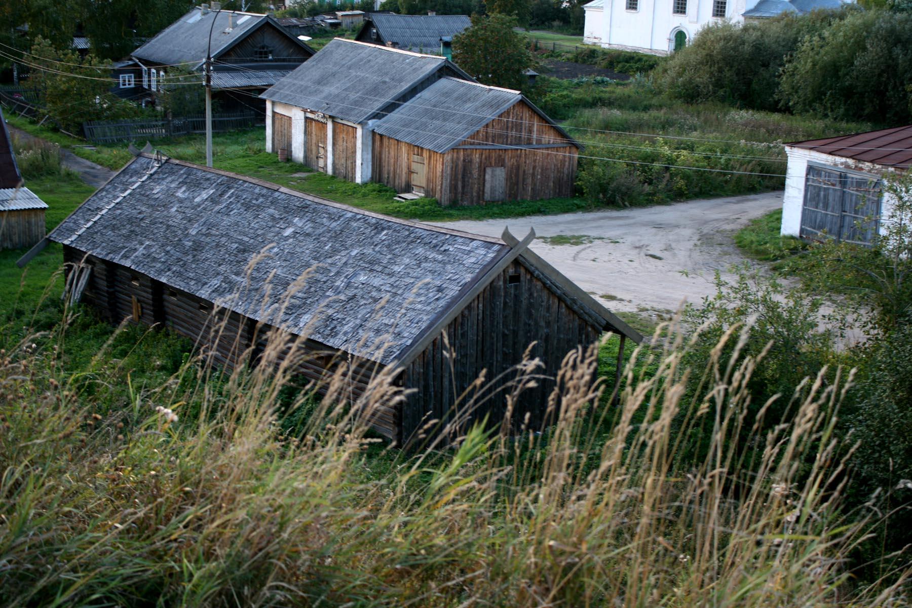 Дом викингов с вала