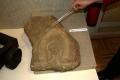 Камень из крепостной стены