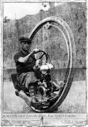 Гонщик на моноциклете из доков,