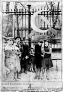 Английские коммунисты в Лондоне
