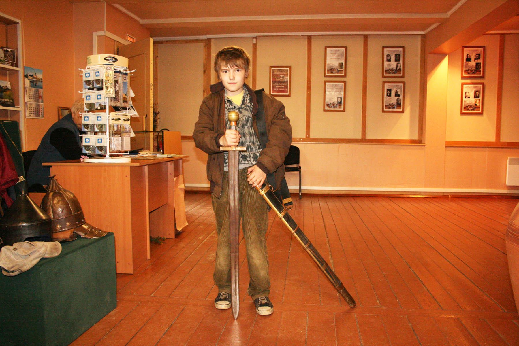 Настоящий меч