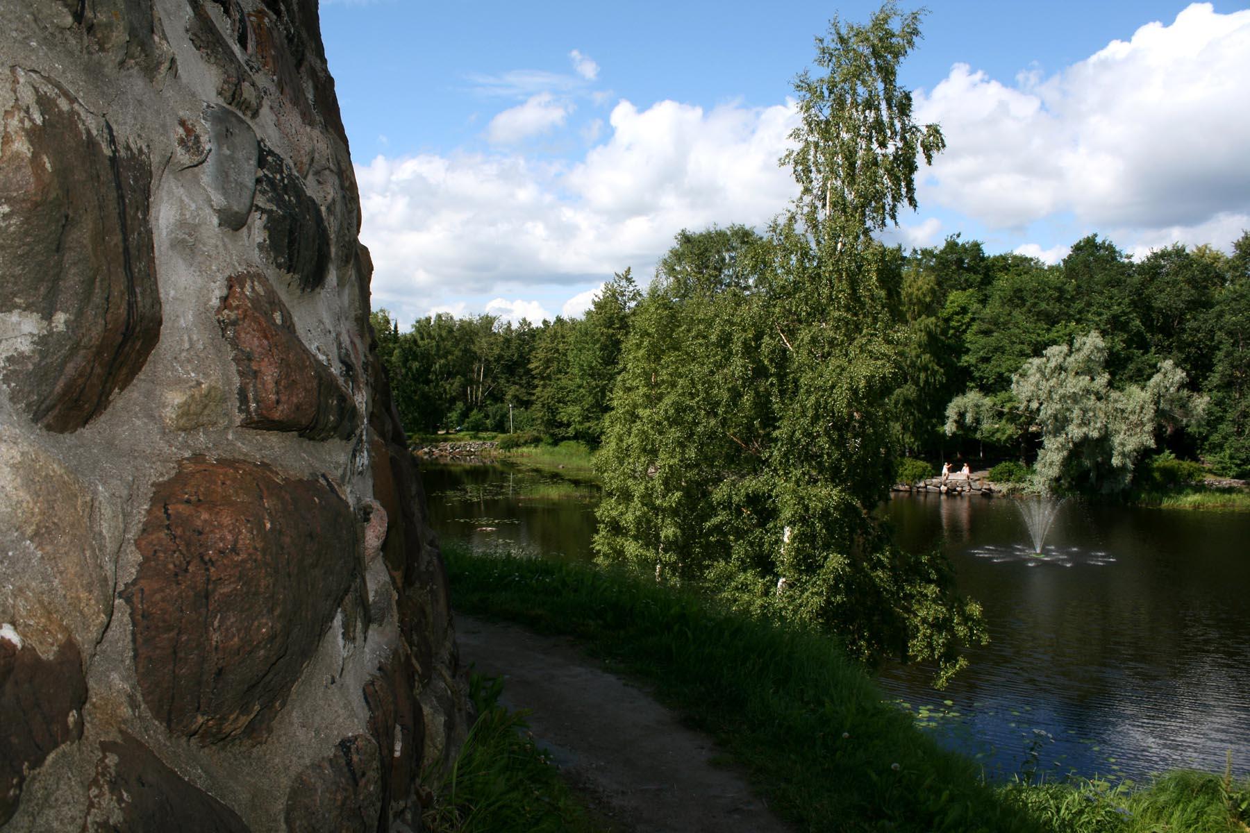 Крепость и Вуокса