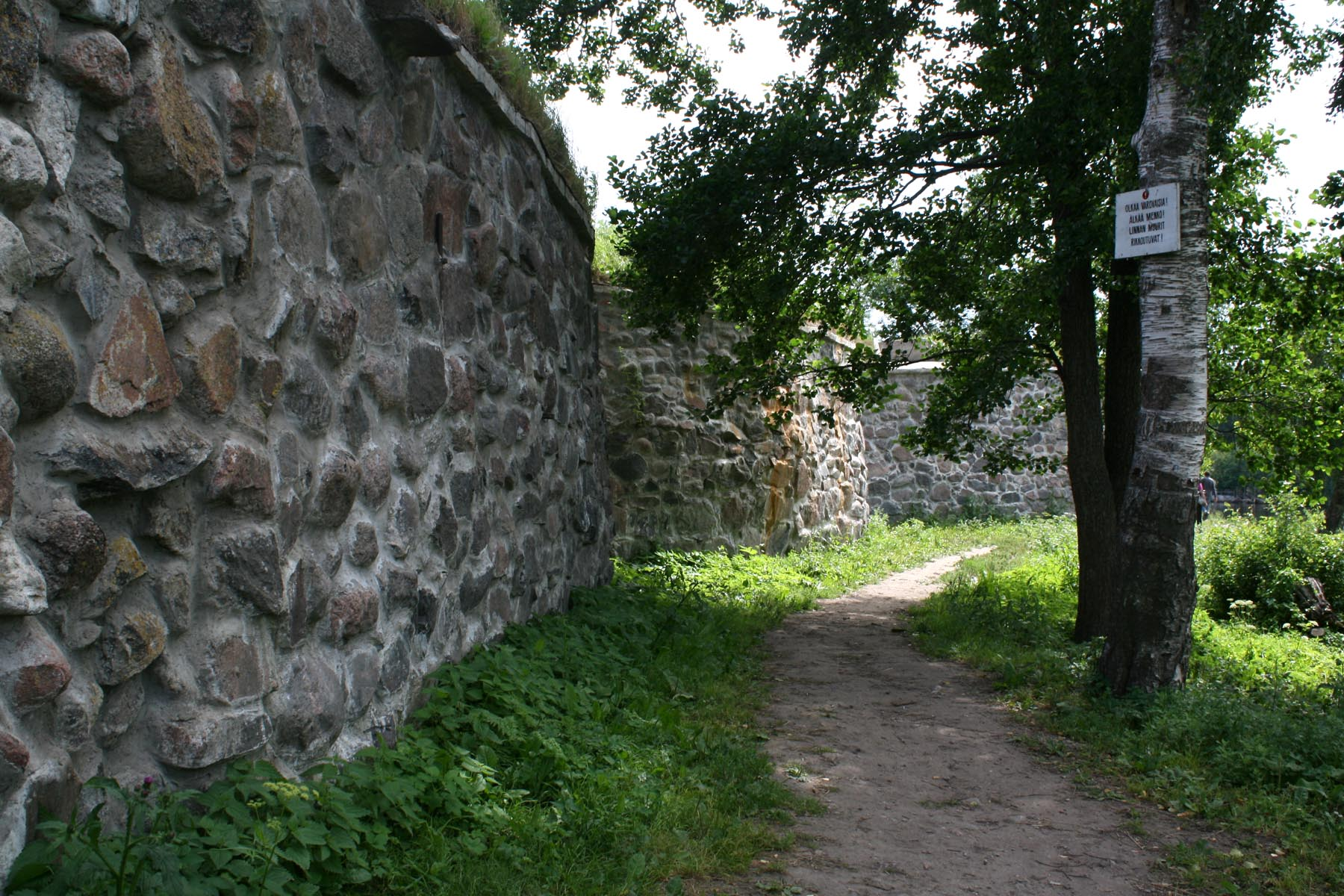Клок-бастион с Вуоксы