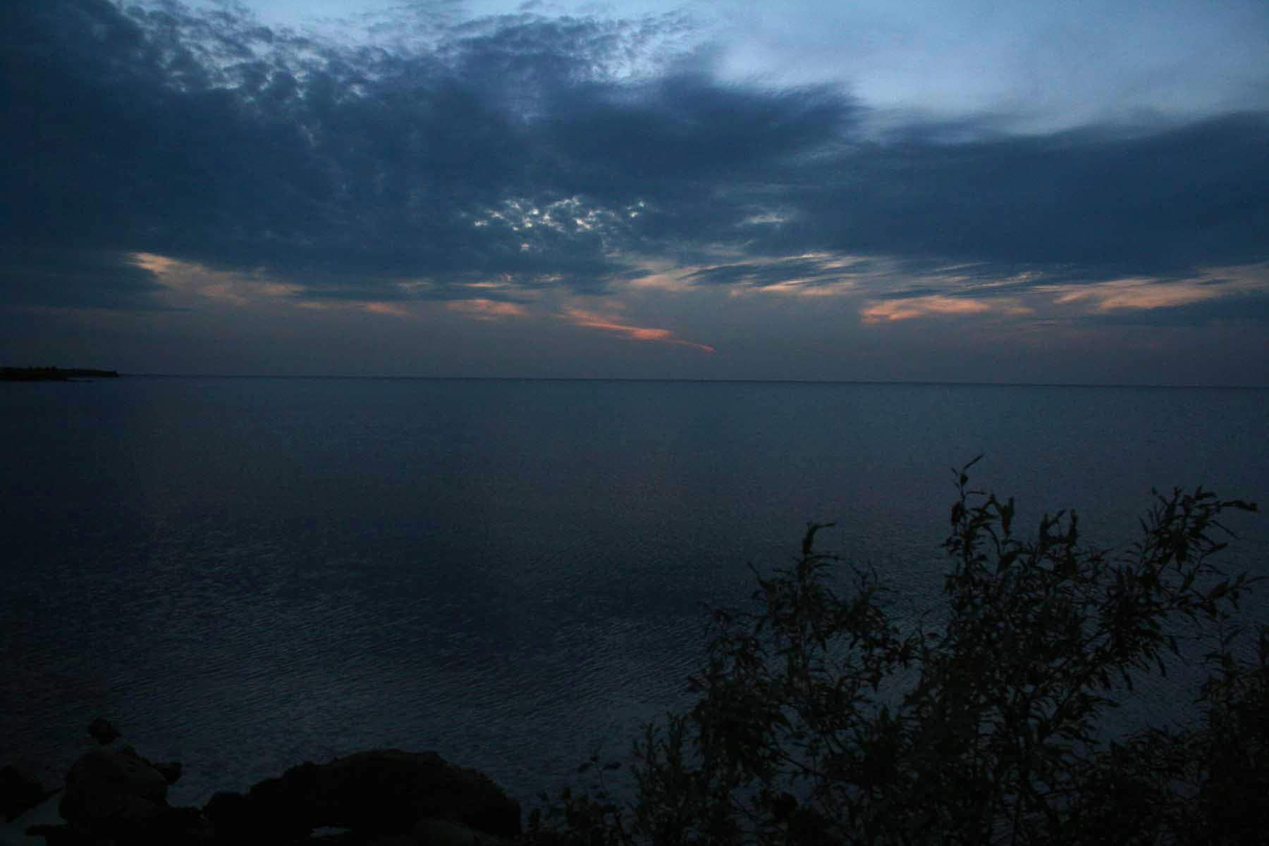 Над Белым озером