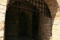 Решетка на воротах