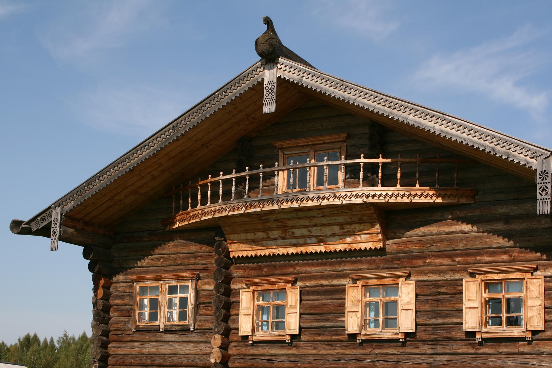 Балкон дома Пудовой