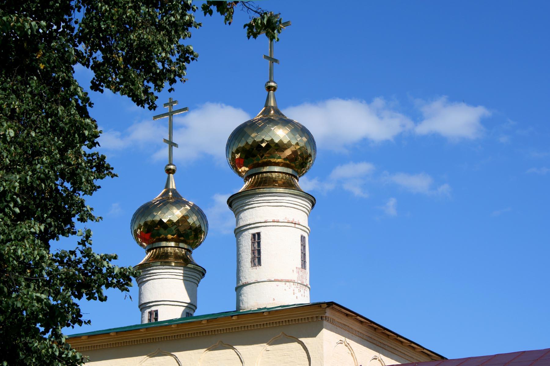 Купола святых врат