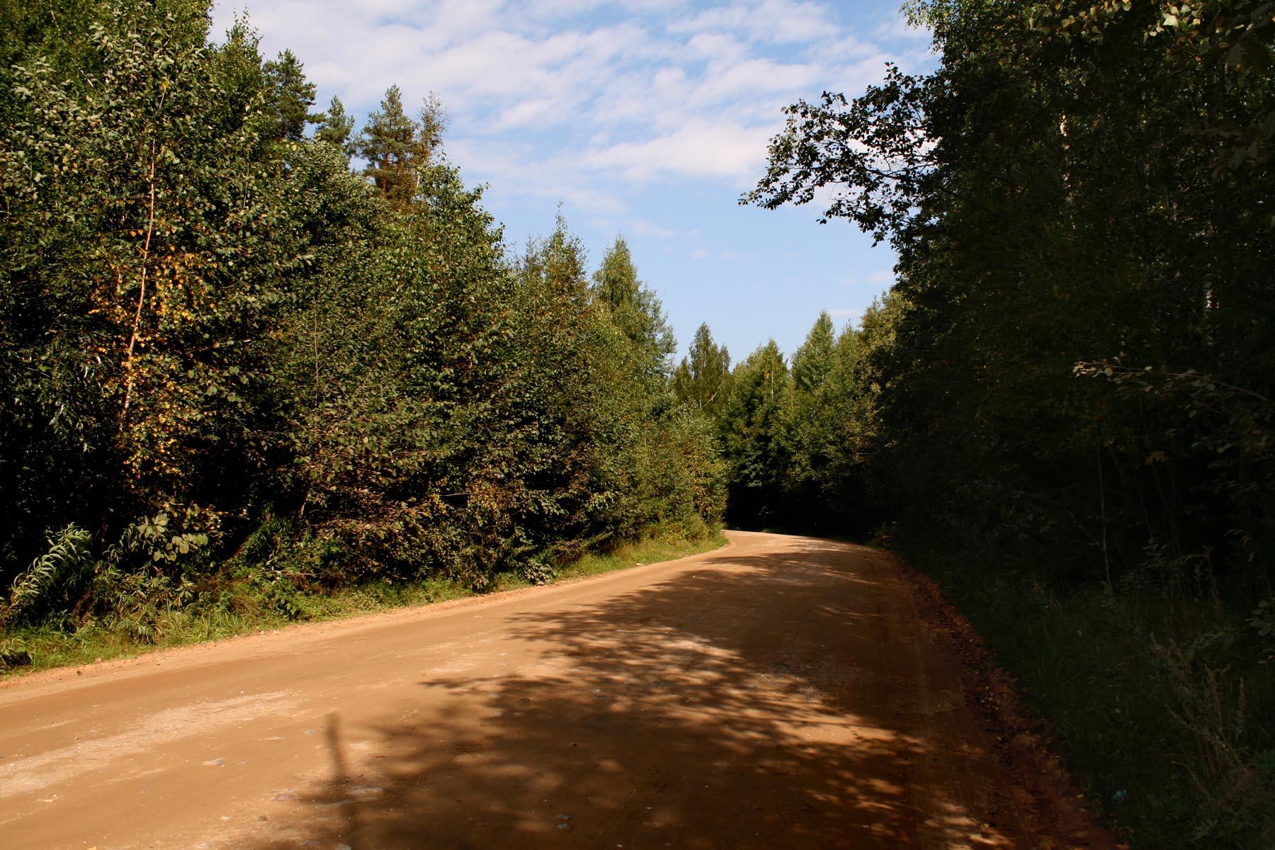 Дорога к Устюжне