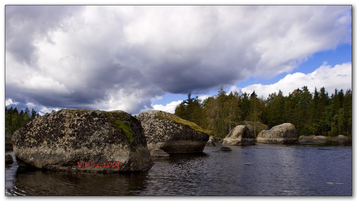 Валуны Градуевского озера