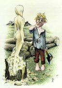 Виктор Петухов. Веселые иллюстрации к сказкам. Скульптор