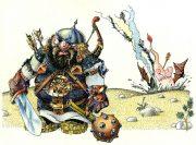 Виктор Петухов. Веселые иллюстрации к сказкам. Илюша